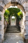 Gardens of Villa Vizcaya in Coconut Grove in Miami, Florida, USA